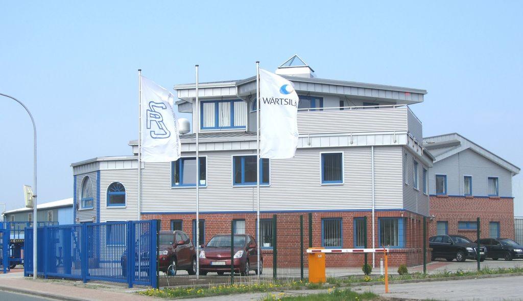Das Firmengebäude der Rudolph Schulze GmbH